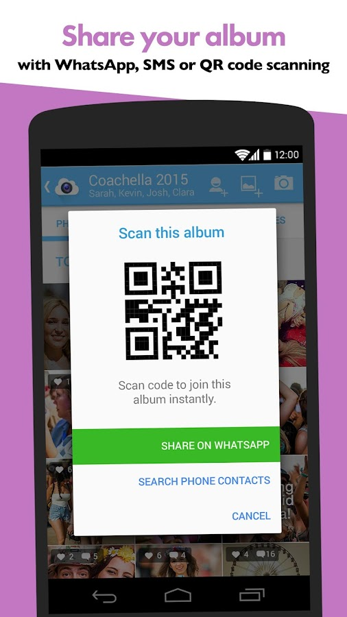 OurCam - Get your photos back- screenshot