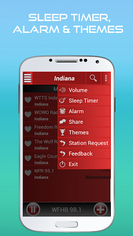 android A2Z Indiana FM Radio Screenshot 4