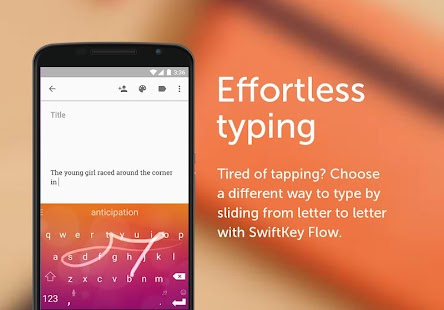 SwiftKey Keyboard Capture d'écran