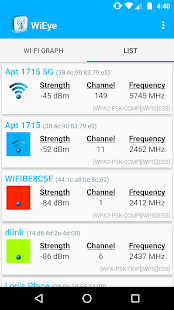 WiEye - WiFi Scanner- screenshot thumbnail