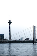 Photo: One of the Tuesday Google+ Photography Themes is +BridgesOverTuesday by +Steve Boyko. This is the Rheinkniebrücke over the Rhine River in Düsseldorf (Germany) built from 1965 to 1969 with a total length of 1518 meters.