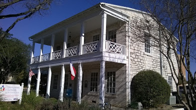 Photo: Hinmann house, 1870,  New Braunfels