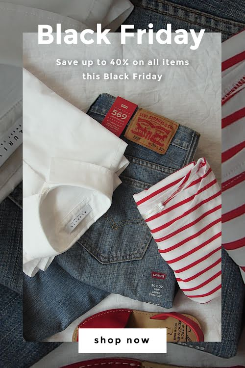 Save 40% Black Friday - Pinterest Pin Template
