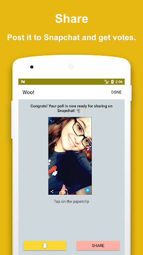 Poll Now - Polls for Snapchat 1.2 screenshots 3