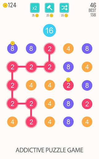 2 For 2: Connect the Numbers Puzzle 2.1.3 screenshots 1