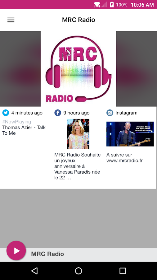 MRC Radio- screenshot