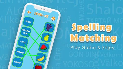 Kids Spelling Match Games - Kids Spelling Learning apklade screenshots 1