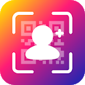 Instant Followers & Get Likes Magic QR Code icon