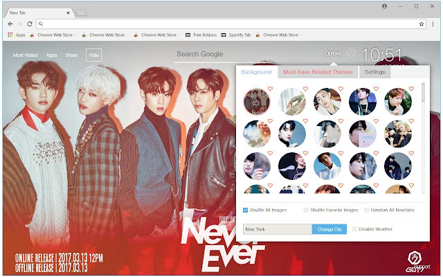 GOT7 Is Awesome Install This Themes To Get HD Wallpapers Of In Every New Tab