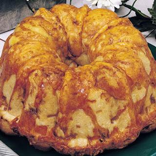 Cheddar Onion Bundt