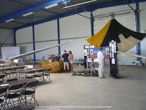 Photo: Overboelare Geraardsbergen 8th Tailwheel Meet 2013 08 04 wings of memory display