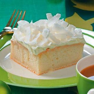 Coconut Cream Yummy Cake.