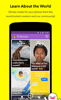 screenshot of Snapchat