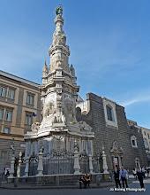 Photo: 2016-05-09. Napels. Obelisk dell'immacolata.