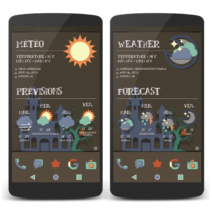 Full Material LP Widgets Set- screenshot