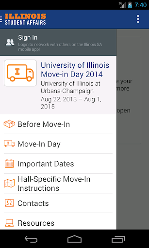 Illinois Student Affairs  screenshots 1