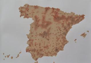 Photo: MAPA CONTAMINACIÓN EN ESPAÑA 2010
