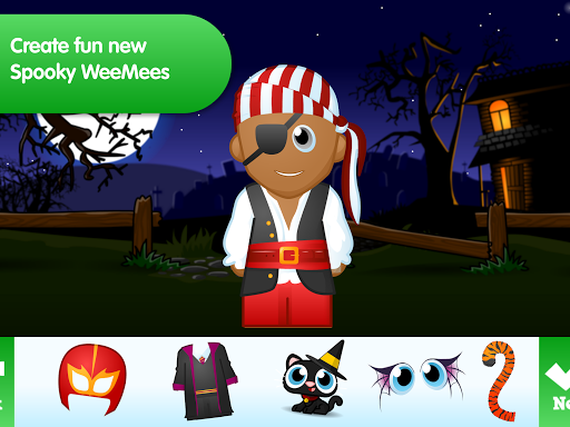 WeeMee Halloween Maker 1.0 screenshots 10