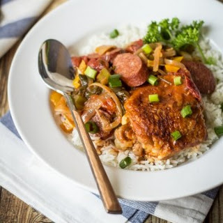 Creole Chicken and Sausage Gumbo
