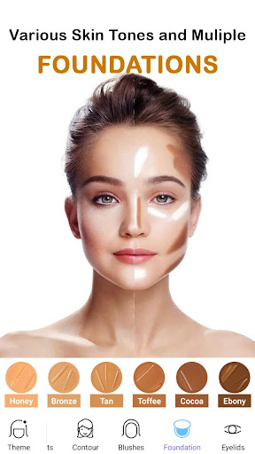 Face Makeup Camera - Beauty Makeover Photo Editor 11.5.33 screenshots 4