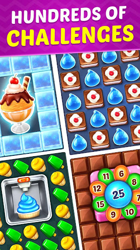 Ice Cream Paradise - Match 3 Puzzle Adventure screenshots 5
