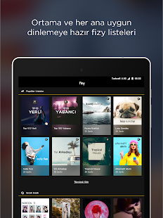 fizy – Müzik & Video Screenshot