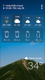 JM Weather +- screenshot thumbnail