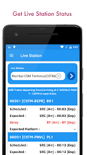 Indian Railway PNR Status & IRCTC Train EnquiryApk Download For Android 4