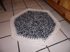 Photo: Bulky Yarn Round Rug