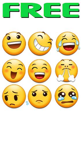 Free Samsung Emojis Android App Screenshot