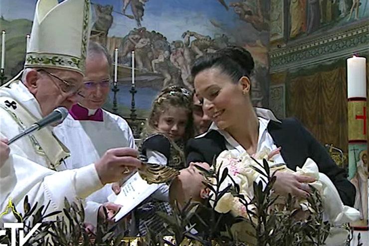 Bài giảng của Đức Thánh Cha trong Lễ Rửa tội cho 28 trẻ em trong Nhà nguyện Sistine