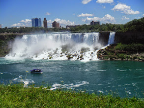 Photo: Day 46 August 3 2013 Brantford ON to Niagara Falls NY On the Canadian side of falls