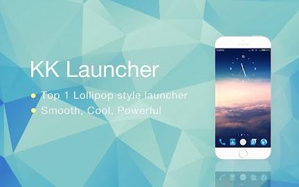 KK Launcher -Lollipop launcher Screenshot 9