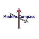 Modern Compass Icon