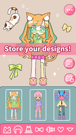 Cute Girl Avatar Maker - Cute Avatar Creator Game 1.1.3 screenshots 2