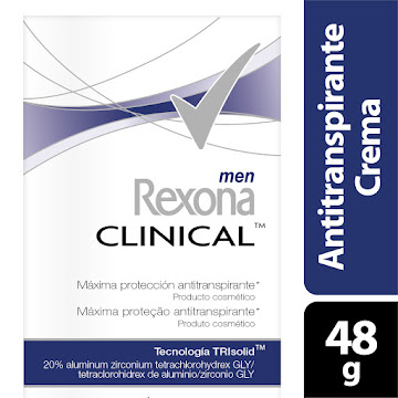 Desodorante Rexona Clinical Men X48g