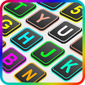 Emoji Keyboard - Colorful Neon
