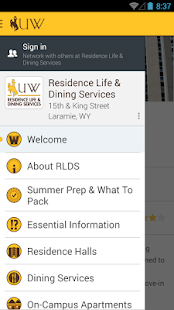 University of Wyoming Guide- screenshot thumbnail