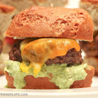 Gluten Free chipotle sliders with extra cheese
