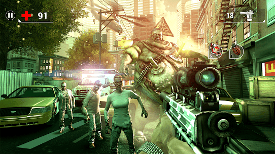 UNKILLED MOD APK+DATA (Unlimited Ammo) 4