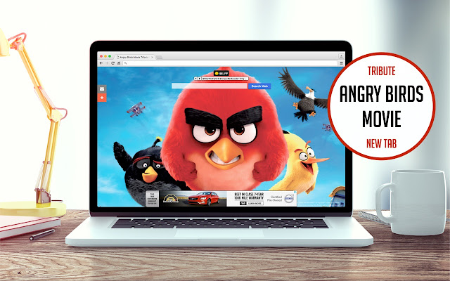 Angry Birds Movie Tribute New Tab