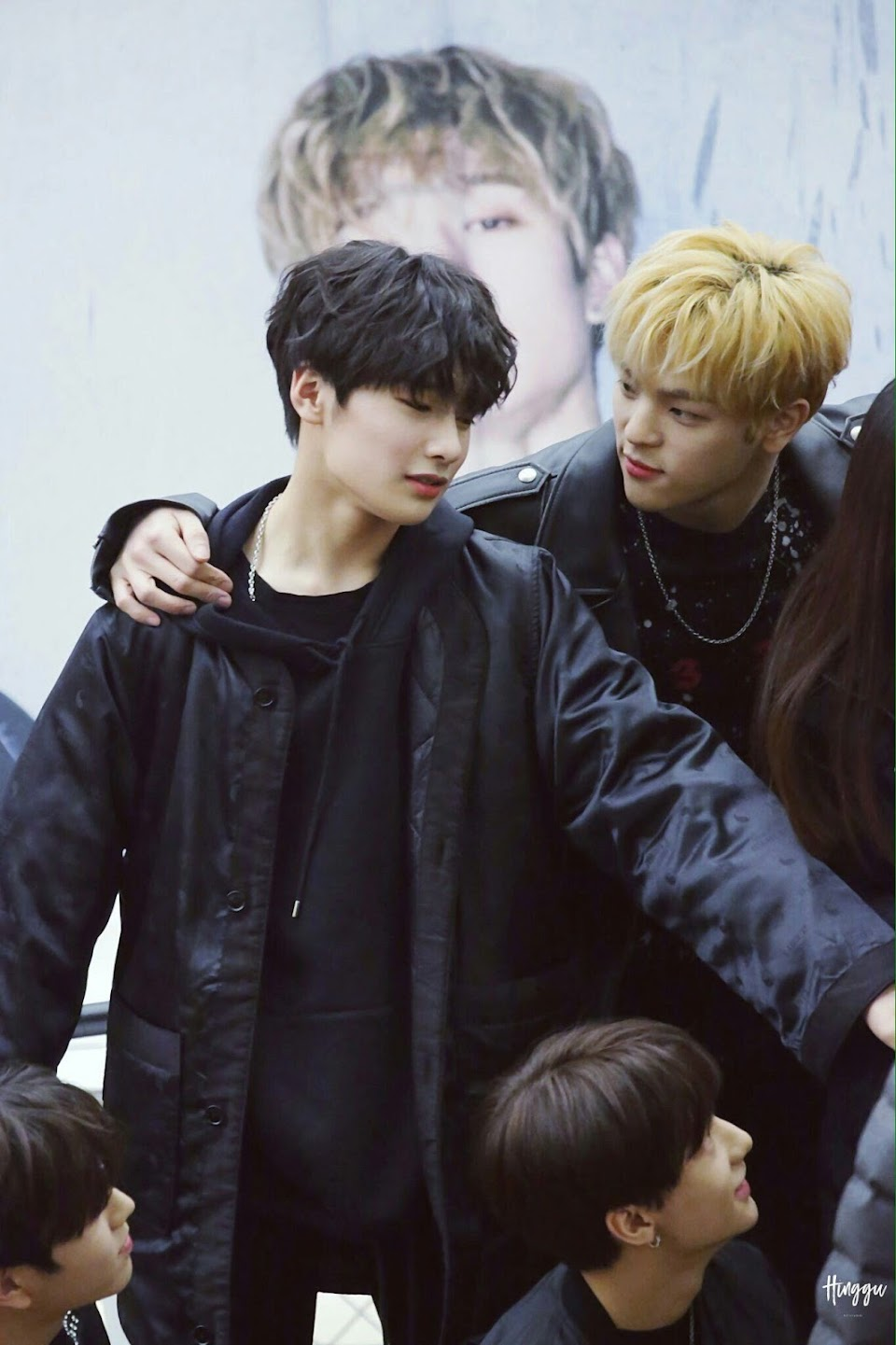 Stray Kids I.N and Woojin