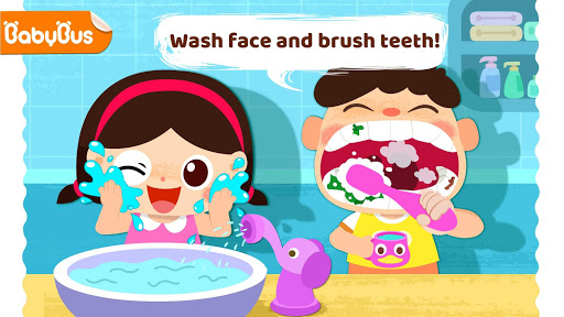 Baby Panda Care: Daily Habits Apk 1