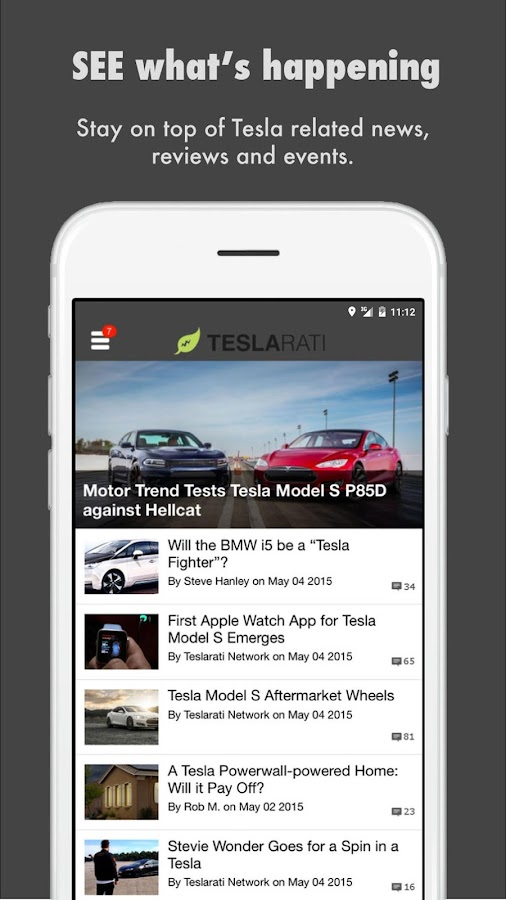 TESLARATI: Tesla Lifestyle- screenshot