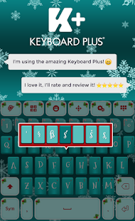 Merry Christmas Keyboard - náhled