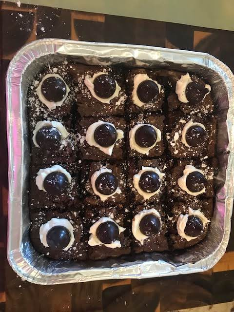 Gf Brownies All Dressed Up For A Party.