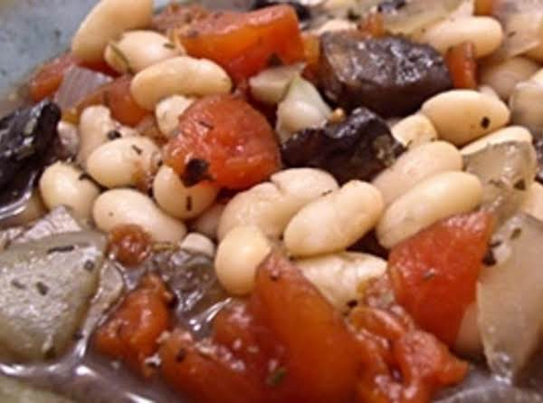 Portabella And White Bean Cassoulet Recipe
