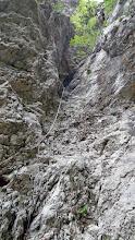 Photo: i eto nas kod prvog skoka gdje pozdravljamo pesonje i nastavljamo bez njih