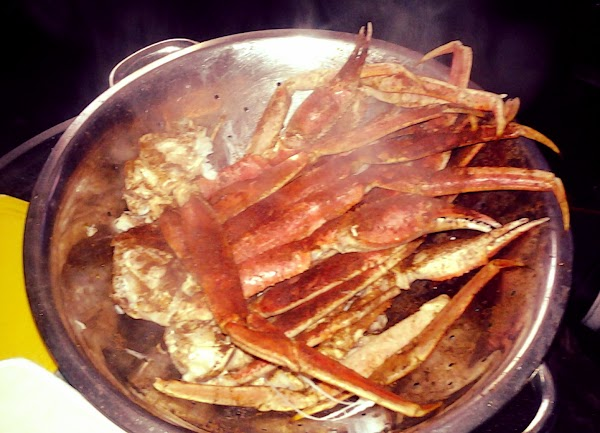 Steamed Snow Crab Legs` Recipe