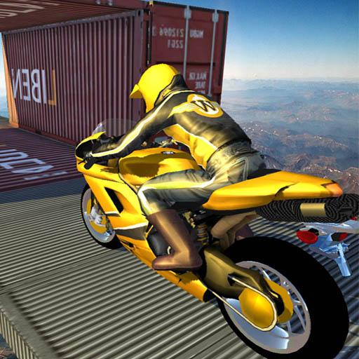 Bike Sky Stunt:Pro Motorbike Rider Android APK Download Free By Archbox Games